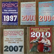 Boxing Monthly Calendars - 293mm X 211mm Years 1997 - 2020 With Key Dates Shown