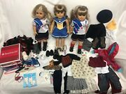 Lot Of American Girl Pleasant Company Dolls, Clothes And Accessories Used
