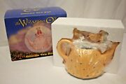 Wizard Of Oz Glinda The Good Witch Porcelain Teapot Warner Bros Collectible