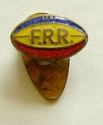 G163 Romania Rugby Federation 1931 First Romanian Rubgy Enamel Pin Badge Sport