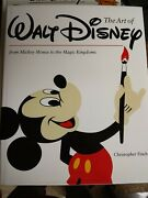 The Art Of Walt Disney From Mickey Mouse To The Magic Kingdom Signed / 8 Artists