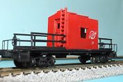 Alton And Southern 27 Transfer Caboose N-scale Custom Built And Painted