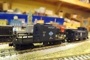 Peroria And Pekin Union Transfer Caboose 21 N-scale Custom Built And Painted