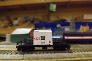 Kansas City Southern  688 Transfer Caboose N-scale Custom Built And Painted
