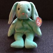 Hippity Retired Ty Beanie Baby - Authentic - Excellent Condition - Rarities