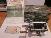 Vintage Pflueger Akron No-1893 Anti-backlash Fishing Reel In New Condition