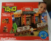 Trio Sheriff Station Parts Replacement Pieces Fisher Price
