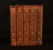 1808-15 5vol Works Of Sir Walter Scott First Editions Rokeby Don Roderick