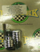 Pro Tek Motorcycle Bar Ends Be-30 Chrome Suzuki Gsxr 600 750 1000 Honda F2 F3 F4