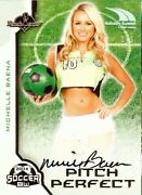 Michelle Baena 2014 Benchwarmers Industry Summit Pitch Perfect Autograph 1/1