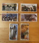 Lord Of The Rings Nz Stamp Set Two Towers First Day Covers New Zealand Post