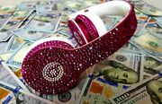 Customized Beats By Dre Bling Headphones Embelished With Genuine Jewe