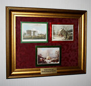 Gerald And Betty Ford White House Christmas Card Collection Frame Coa