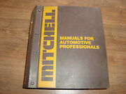 Mitchell Manuals 1984-1986 Tune Up Service And Repair Domestic Cars Cwio