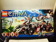 New Lego Legends Of Chima Worrizand039s Combat Lair 70009 Converts Into 5 Models