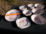 Rose Chintz By Johnson Brothers Made In England. - 32 Pieces