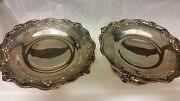 Pair Of A. Stowell And Co. Sterling Silver Matching Compotes Circa 1900and039s