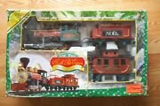 North Pole Express Christmas Train Sets Christmas Carols Battery-operated 22 Pie