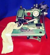 Us Blindstitch Hemmer 718 Electric With Compressed Air System Installed