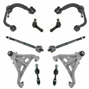 Front Control Arm Tie Rod Sway Bar Link Steering Suspension Kit 10pc For F150