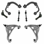 Front Control Arm Tie Rod Sway Bar Link Steering Suspension Kit Set 8pc For F150