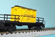 Alton And Southern 34 Wood Transfer Caboose N-scale Custom Built And Painted