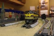 N-scale Custom Painted Ontario Northland Green F-unit  1521 Dcc Ready