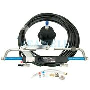 Hydraulic Boat Outboard Steering Marine Steering System Kit Cylinder Helm 90hp