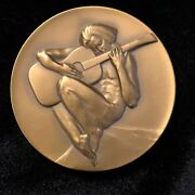 Society Of Medalists Bronze Medal 87 Mico Kaufman