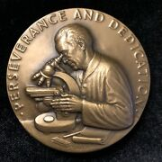 Society Of Medalists Bronze Medal 78 Terry Lies Medical Research