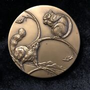 Society Of Medalists Bronze Medal 72 Weistrop Sower Of The Forest