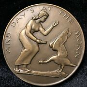 Society Of Medalists Bronze Medal 57 Charles Rudy