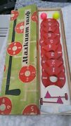 Vintage Golf Play Set Indoor Complete Box Game Toy Shooting Cccp Ussr Hand Made