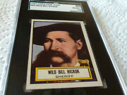 1952 Topps 60 Look And039 N See Wild Bill Hickok Sgc 82 Short Print