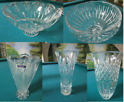 Marquis Waterford Crystal Vases Ariel - Shelton - Festival - Canterbury-caprice
