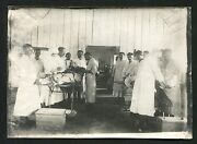H407 Romania Wwi Military War Hospital Doctors And Hand Amputation Surgery Photo