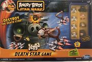 Angry Birds Star Wars Jenga Death Star Game Brand New And Factory Sealed