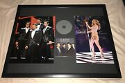 Celine Dion And Il Divo Collector's Item Signed Autographed Framed Photo And Cd Set