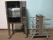 Resfab Lm-24a Hd Commercial 3ph Electric Digital Chicken/rib Rotisserie Oven