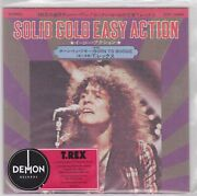 Marc Bolan And T. Rex - Solid Gold Easy Action - Rare Promo Red / Blue Vinyl 7