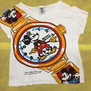 Walt Disney Productions Collector's Series 19 Mickey Mouse 1970's Mens T Shirt