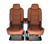 2016 2015 Escalade Esv Platinum Edition 2nd Row Seats In Kona Brown Leather