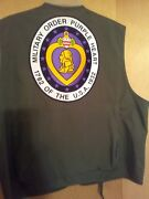 Vintage Fishing Vest Patches And Pins Purple Heart Vietnam Vet Navy Marines 44-48