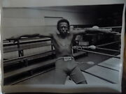 Jim Marshall Jazz Photograph Miles Davis At Newmanandrsquos Gym In San Francisco 1978