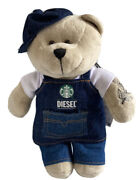 Starbucks Thailand Bearista Bear Traditional Outfits Complete Set Of 5 -no Card