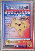 Poster Texas Pinball Festival Twin Galaxies 2008 Walter Day Signed Arcade Gaming