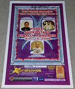 Twin Galaxies Classic Arcade Poster April 2008 Billy Mitchell Walter Day Signed