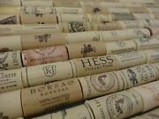 Assorted Synthetic Recycled Used Wine Corks Lots Crafting 10 20 30 40 50 100 200