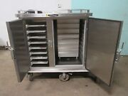 Servolift Eastern Commercial Refrigerated/heated Mobile Food Delivery Cart