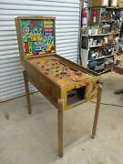 Exhibits Crossfire Coin Op Vintage Arcade Game Pinball 1947